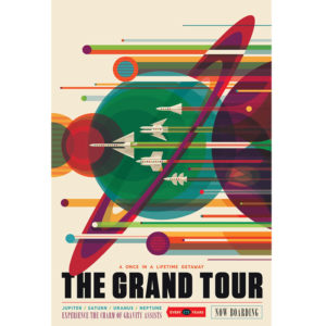 The Grand Tour - NASA /JPL Visions of the Future Poster