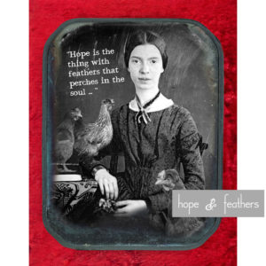 Reimagining Emily - Hope is the thing with feathers that perches in the soul
