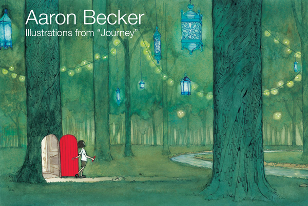 "Aaron Becker: Illustrations from ""Journey"""