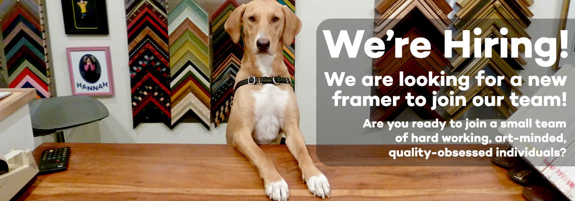 We are hiring a new framer!