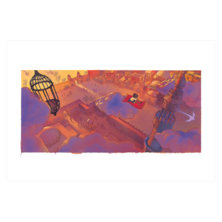 Above Old Cairo – signed print by Aaron Becker