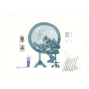 Dream Job – signed print by Aaron Becker