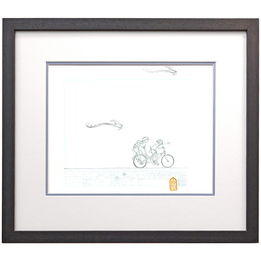 A New Journey - sketch by Aaron Becker - Hope & Feathers Framing and ...
