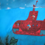 The Red Submarine – signed print by Aaron Becker