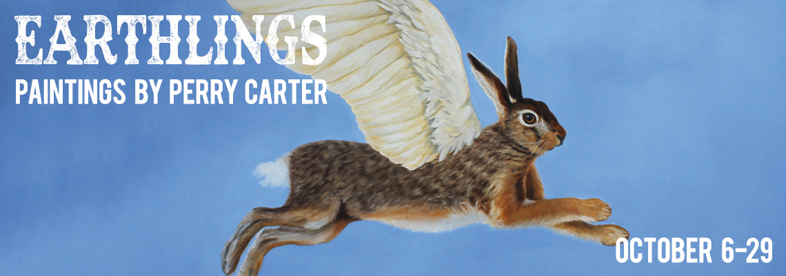 Earthlings: Paintings by Perry Carter
