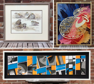 August 2016: Birds, Batiks, and Books... all in one week!