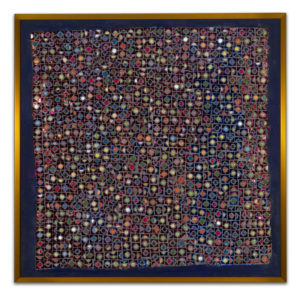 Marbles - original mosaic by Isabel Margolin