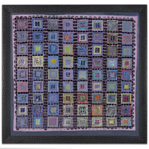 Square One - original mosaic by Isabel Margolin