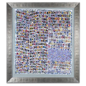 Ticker Tape - original mosaic by Isabel Margolin