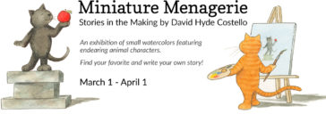 enagerie: Stories in the Making - Paintings by David Hyde Costello