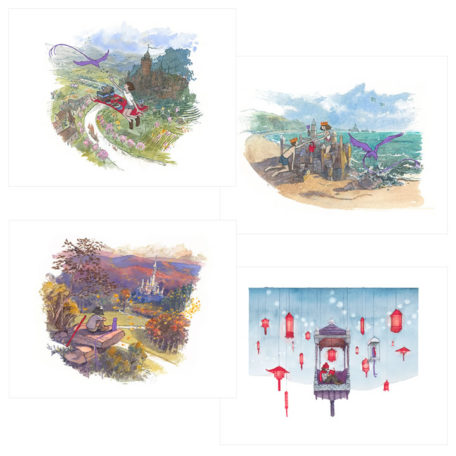 The Four Seasons - signed prints by Aaron Becker