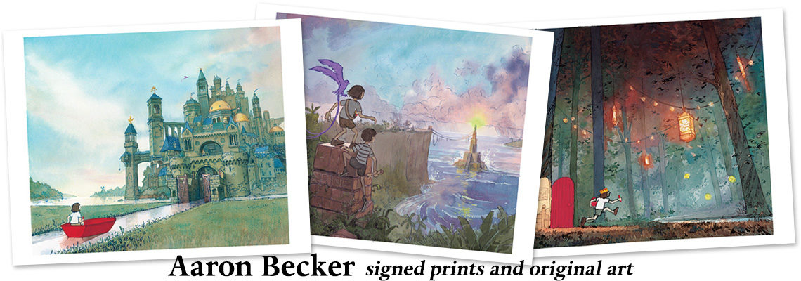 Aaron Becker: prints and original art