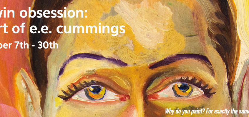 His Twin Obsession: The Art of E.E. Cummings