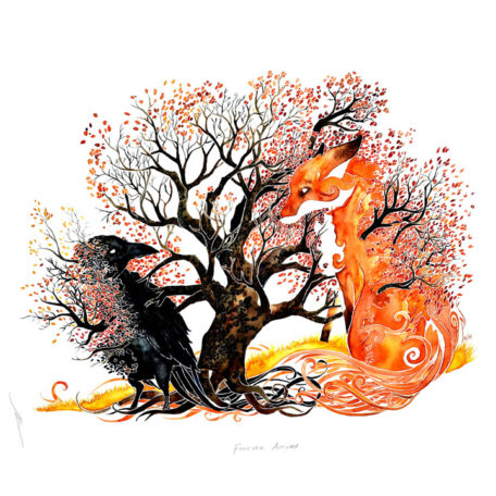 Forever Autumn - print by Pete Sandker