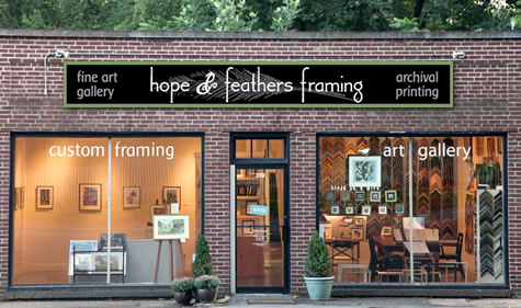 Hope & Feathers Framing - Where to buy picture frames