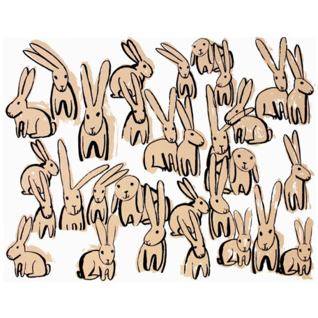Bunnies - People I've Loved Print