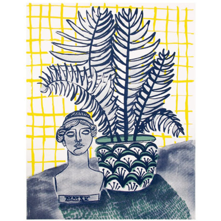 A Lady And A Fern - People I've Loved Print