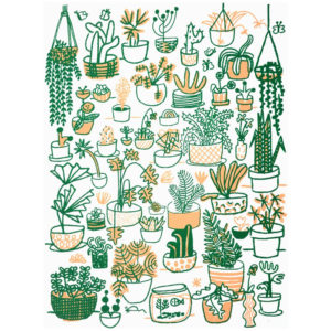 Plant Family - People I've Loved Print