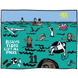 Rising Tides - People I've Loved Print