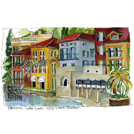 Varenna, Lake Como - print by Lois Barber