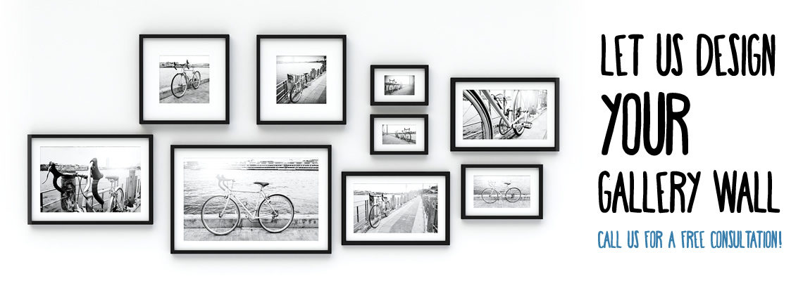 Let Us Design Your Gallery Wall