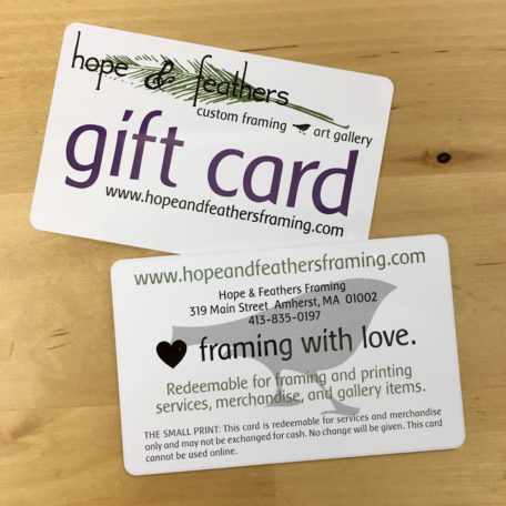Hope & Feathers gift cards