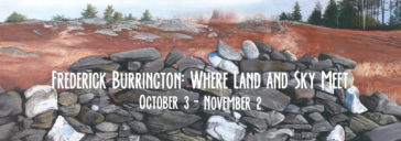 Frederick Burrington: Where Land and Sky Meet