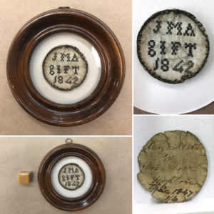 February 2020: Antique English Watch Sampler