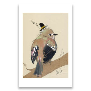 Flycatcher - signed print by Cordell Cordaro
