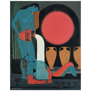 The Healing Baths - print by Mike Willcox