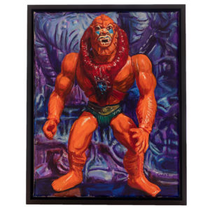 Beast Man PRINT by Chris Bordenca