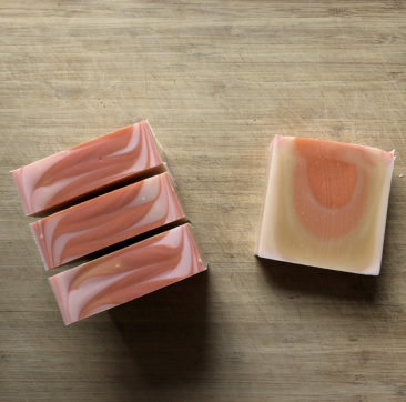 Blood Orange Patchouli soap