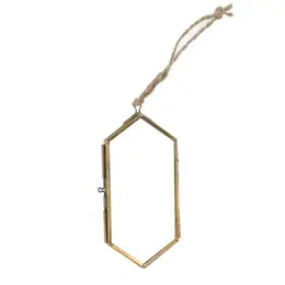 Large Ornament Frame in Brass