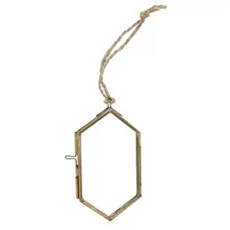Small Ornament Frame in Brass